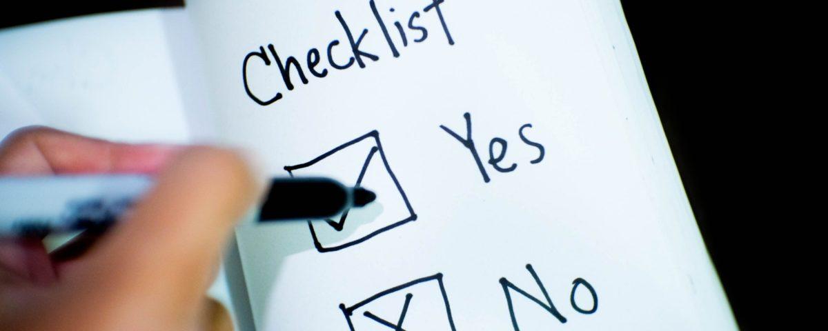 online store checklist
